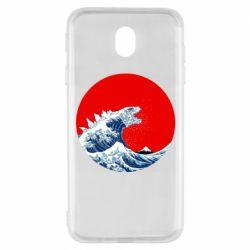 Чохол для Samsung J7 2017 Godzilla Wave