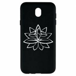 Чохол для Samsung J7 2017 Lotus yoga