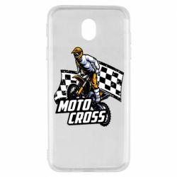 Чехол для Samsung J7 2017 Motocross
