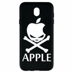 Чехол для Samsung J7 2017 Pirate Apple