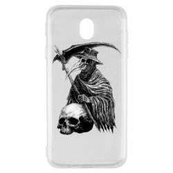 Чехол для Samsung J7 2017 Plague Doctor graphic arts