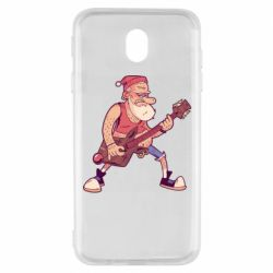 Чохол для Samsung J7 2017 Rock'n'roll Santa