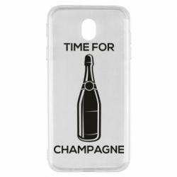 Чохол для Samsung J7 2017 Time for champagne