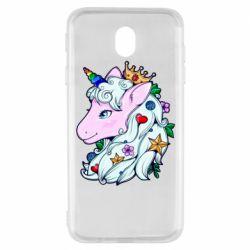 Чохол для Samsung J7 2017 Unicorn Princess