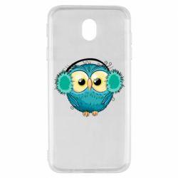 Чехол для Samsung J7 2017 Winter owl