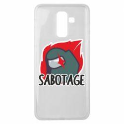 Чохол для Samsung J8 2018 Among Us Sabotage