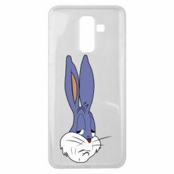 Чохол для Samsung J8 2018 Bugs Bunny Meme Face
