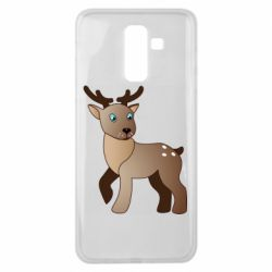 Чехол для Samsung J8 2018 Cartoon deer