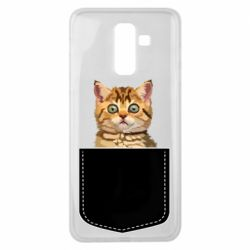 Чехол для Samsung J8 2018 Cat in your pocket