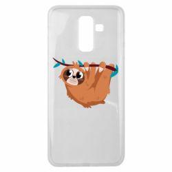 Чохол для Samsung J8 2018 Cute sloth