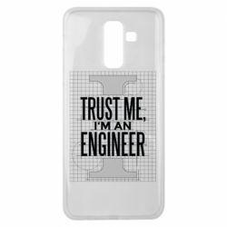 Чохол для Samsung J8 2018 Довірся мені я інженер
