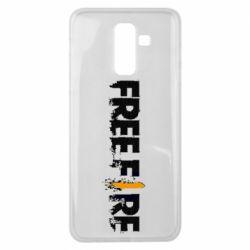 Чехол для Samsung J8 2018 Free Fire spray