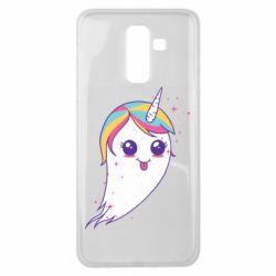 Чохол для Samsung J8 2018 Ghost Unicorn
