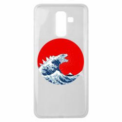 Чохол для Samsung J8 2018 Godzilla Wave