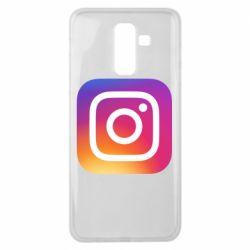 Чохол для Samsung J8 2018 Instagram Logo Gradient