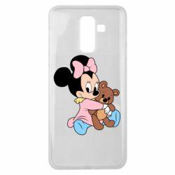 Чохол для Samsung J8 2018 Minnie And Bear