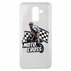 Чехол для Samsung J8 2018 Motocross
