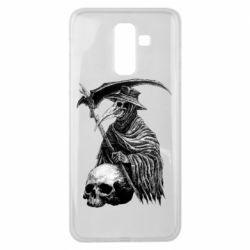 Чехол для Samsung J8 2018 Plague Doctor graphic arts