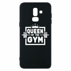 Чохол для Samsung J8 2018 Queen Of The Gym
