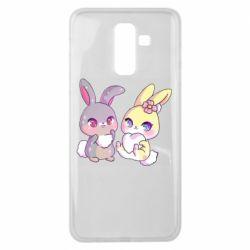 Чохол для Samsung J8 2018 Rabbits In Love