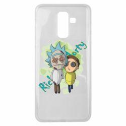 Чохол для Samsung J8 2018 Rick and Morty voodoo doll