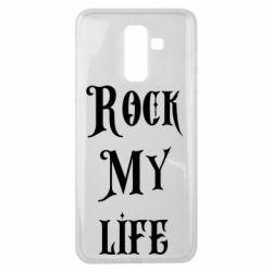 Чехол для Samsung J8 2018 Rock my life
