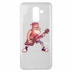 Чохол для Samsung J8 2018 Rock'n'roll Santa