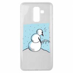 Чохол для Samsung J8 2018 Snowman. It's Cold!