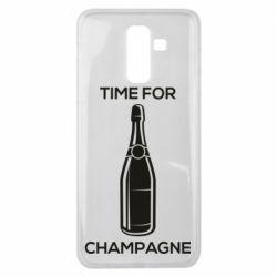 Чохол для Samsung J8 2018 Time for champagne