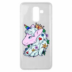 Чохол для Samsung J8 2018 Unicorn Princess
