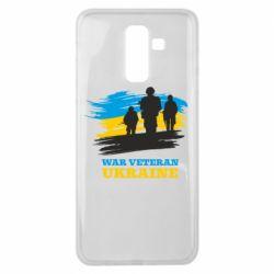 Чохол для Samsung J8 2018 War veteran оf Ukraine