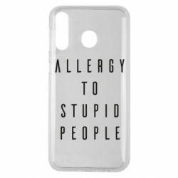Чехол для Samsung M30 Allergy To Stupid People