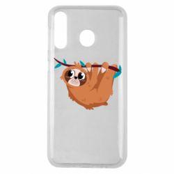Чохол для Samsung M30 Cute sloth
