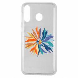Чохол для Samsung M30 Flower coat of arms of Ukraine