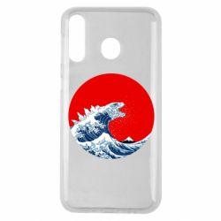 Чохол для Samsung M30 Godzilla Wave
