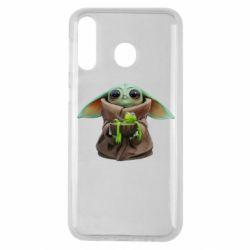 Чохол для Samsung M30 Grogu and Kermit