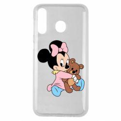 Чохол для Samsung M30 Minnie And Bear