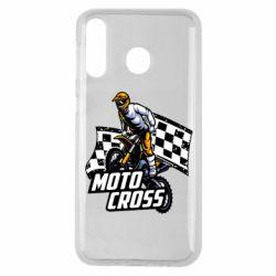 Чехол для Samsung M30 Motocross