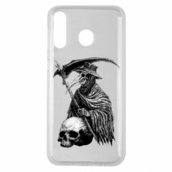 Чехол для Samsung M30 Plague Doctor graphic arts