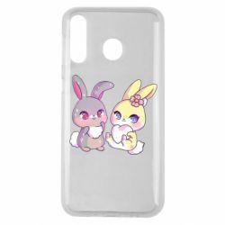 Чохол для Samsung M30 Rabbits In Love