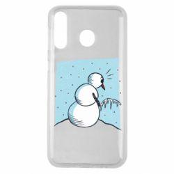 Чохол для Samsung M30 Snowman. It's Cold!