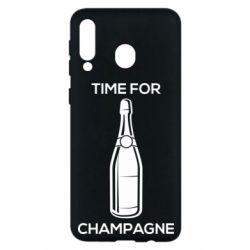 Чохол для Samsung M30 Time for champagne