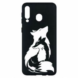 Чехол для Samsung M30 Wolf And Fox