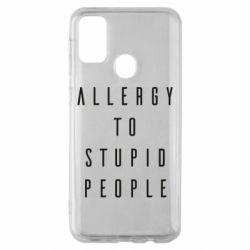 Чехол для Samsung M30s Allergy To Stupid People