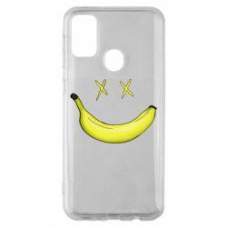 Чехол для Samsung M30s Banana smile