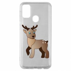 Чехол для Samsung M30s Cartoon deer