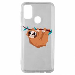 Чохол для Samsung M30s Cute sloth