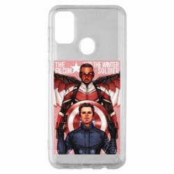 Чохол для Samsung M30s Falcon and the Winter Soldier Art