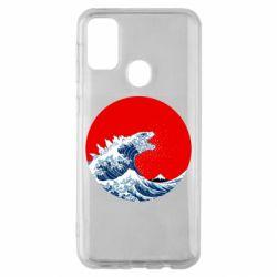 Чохол для Samsung M30s Godzilla Wave