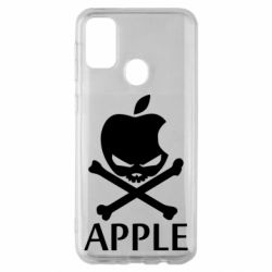 Чехол для Samsung M30s Pirate Apple